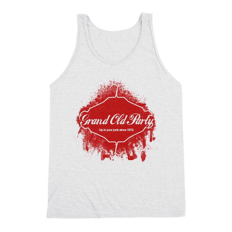 Grand Ol' Party - No Wire Hangers Men's Triblend Tank by Gothman Flavored Clothing