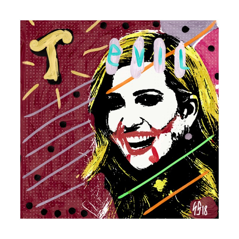 Real Evil Ivanka Pop Art by Gothman Flavored Clothing
