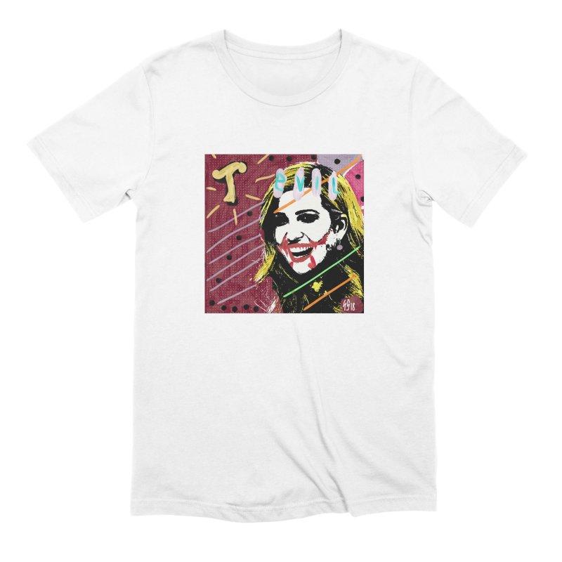Real Evil Ivanka Pop Art Men's T-Shirt by Gothman Flavored Clothing