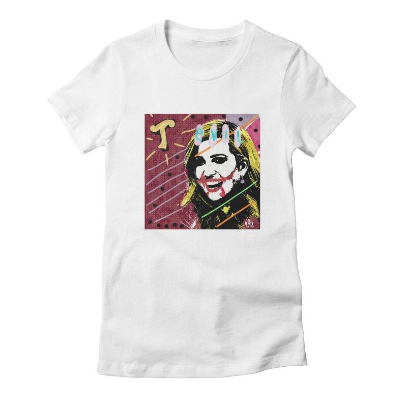 Real Evil Ivanka Pop Art Women's T-Shirt by Gothman Flavored Clothing