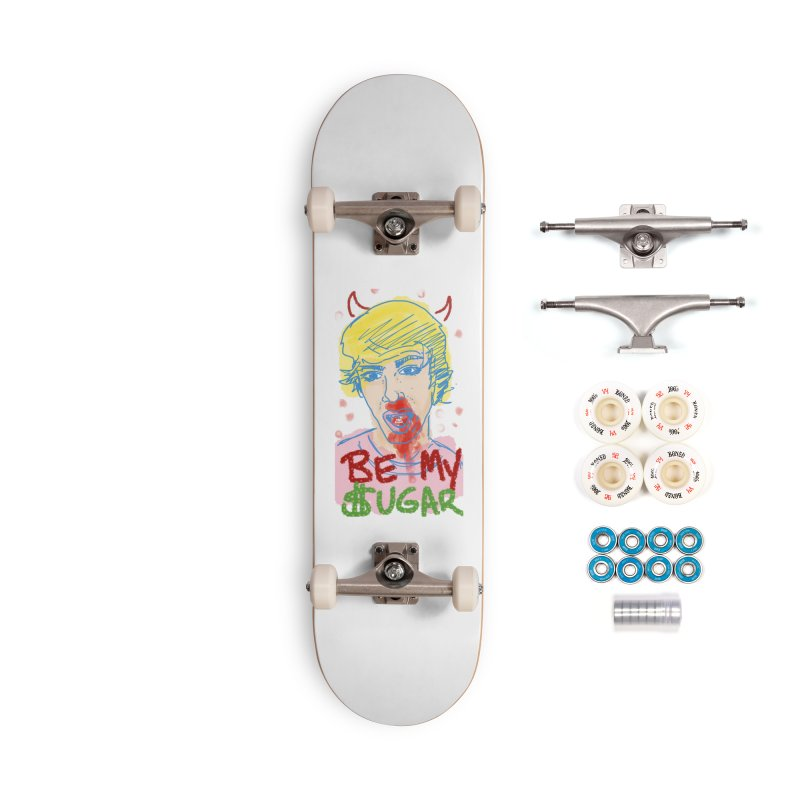 Be My Sugar Accessories Complete - Premium Skateboard by Gothman Flavored Clothing