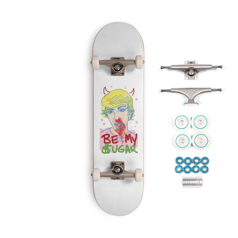 Be My Sugar Accessories Skateboard by Gothman Flavored Clothing