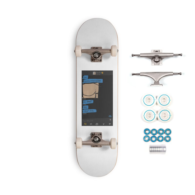 Hard & Deep on Grindr Accessories Skateboard by Gothman Flavored Clothing