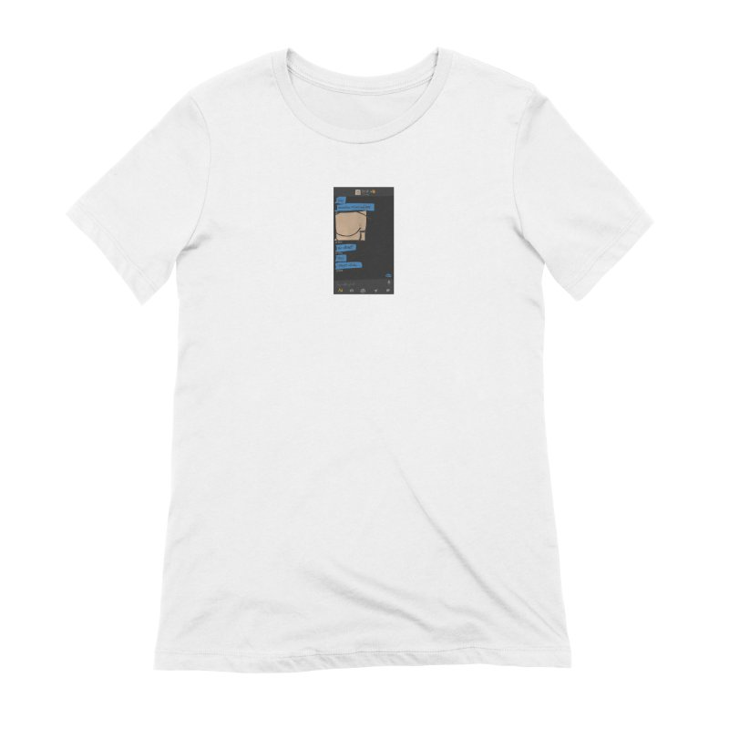 Hard & Deep on Grindr Women's T-Shirt by Gothman Flavored Clothing