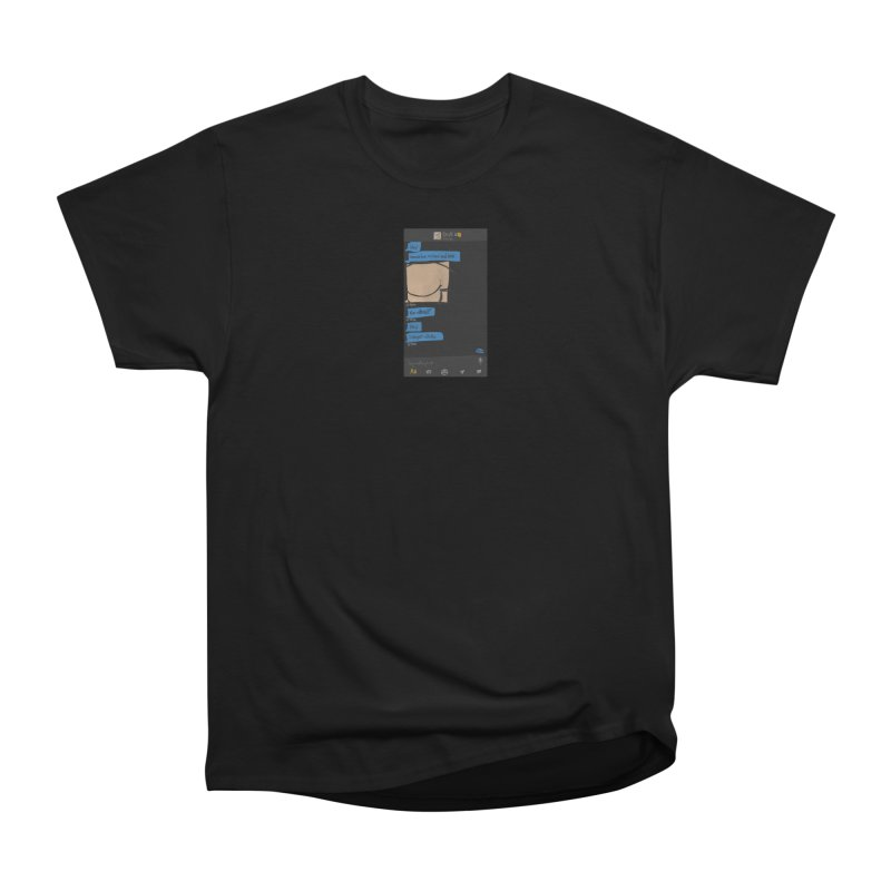 Hard & Deep on Grindr Men's Heavyweight T-Shirt by Gothman Flavored Clothing
