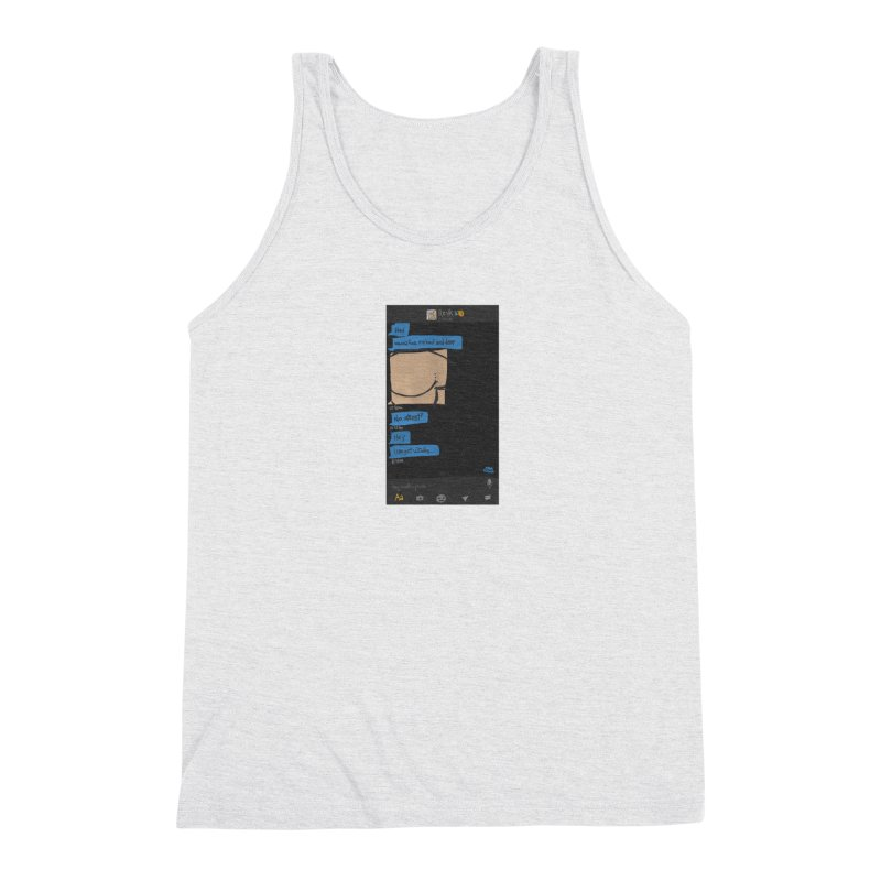 Hard & Deep on Grindr Men's Triblend Tank by Gothman Flavored Clothing