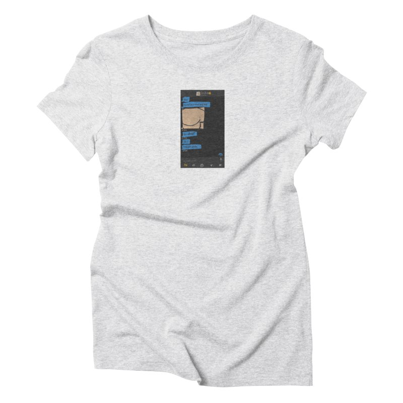 Hard & Deep on Grindr Women's Triblend T-Shirt by Gothman Flavored Clothing