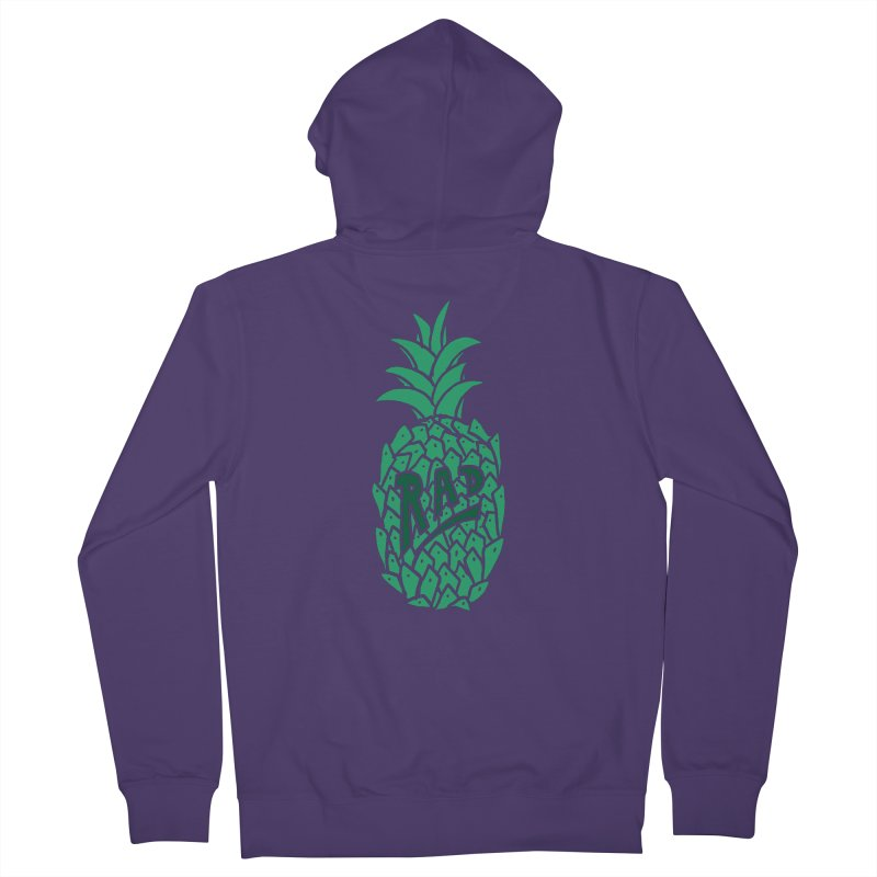 Rad Pineapple Women's Zip-Up Hoody by Seanic Supply Co.