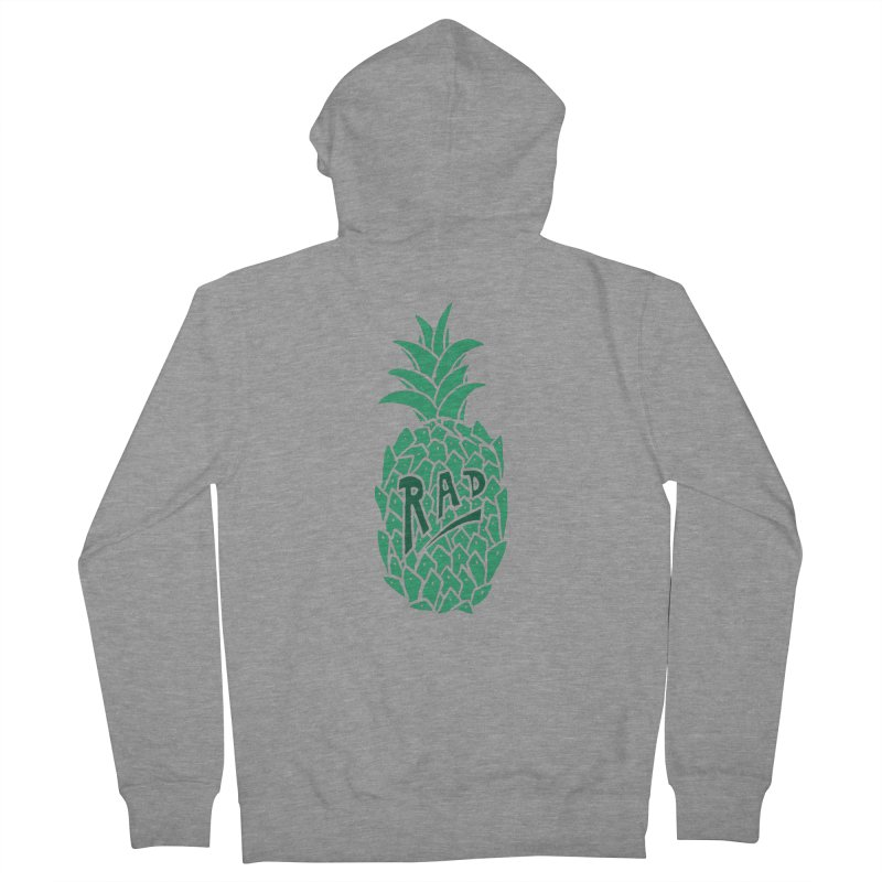 Rad Pineapple Men's Zip-Up Hoody by Seanic Supply Co.