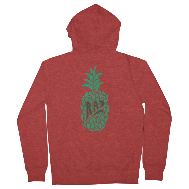 Rad Pineapple Men's Zip-Up Hoody by Seanic Supply Co.