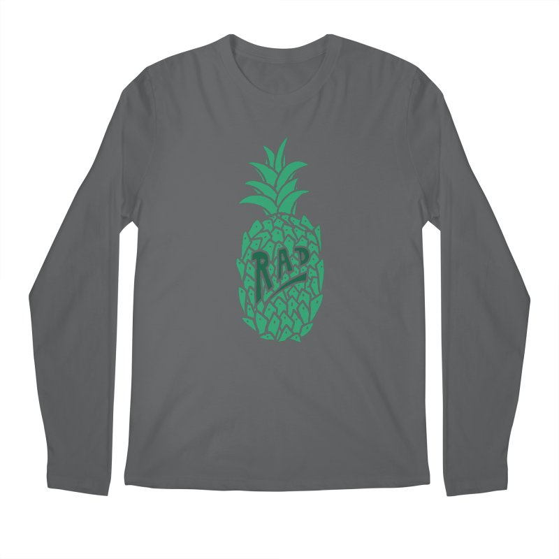 Rad Pineapple Men's Longsleeve T-Shirt by Seanic Supply Co.