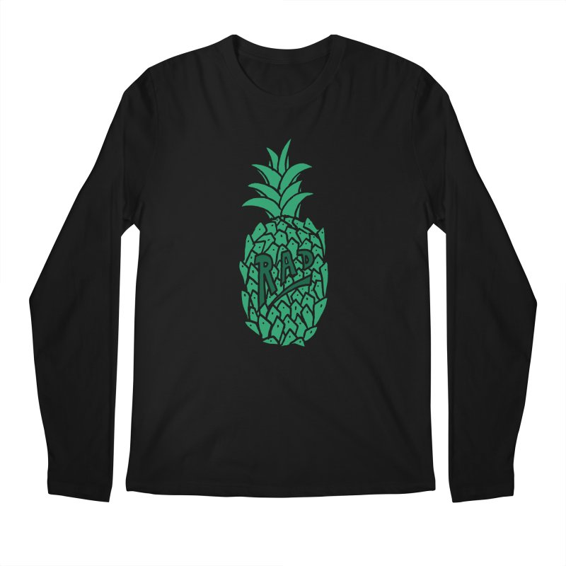 Rad Pineapple Men's Longsleeve T-Shirt by Seanic Supply Co.