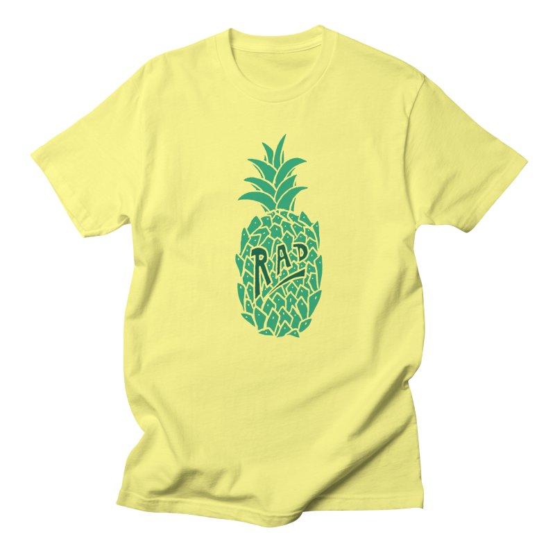 Rad Pineapple Men's T-shirt by Seanic Supply Co.