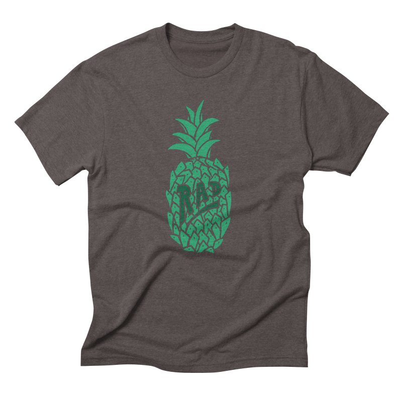 Rad Pineapple Men's Triblend T-Shirt by Seanic Supply Co.
