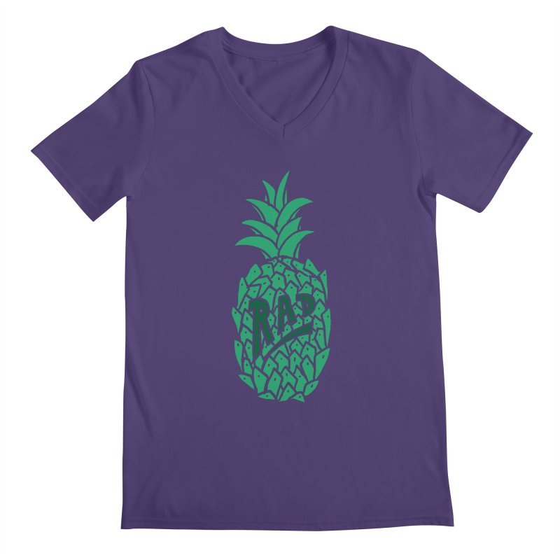 Rad Pineapple Men's V-Neck by Seanic Supply Co.