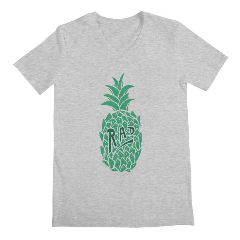 Rad Pineapple Men's V-Neck by Seanic Supply Co.