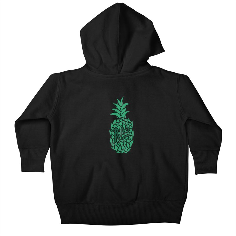 Rad Pineapple Kids Baby Zip-Up Hoody by Seanic Supply Co.