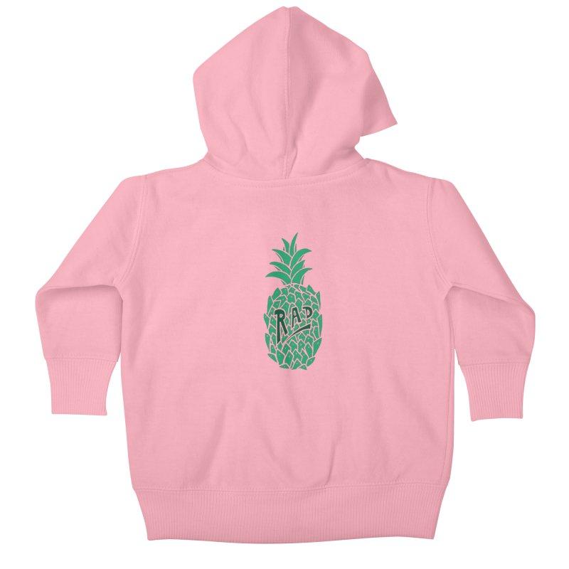 Rad Pineapple Kids Baby Zip-Up Hoody by Seanic Supply Co.