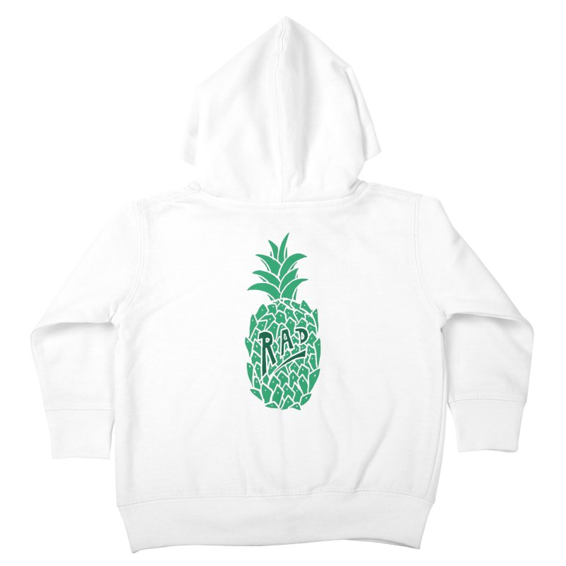 Rad Pineapple Kids Toddler Zip-Up Hoody by Seanic Supply Co.