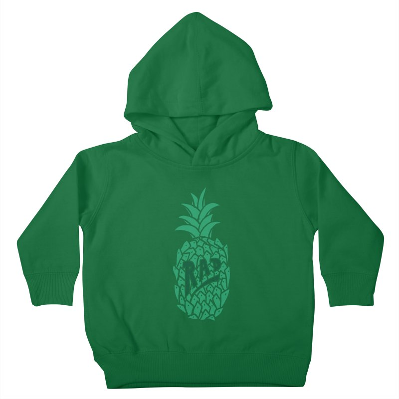 Rad Pineapple Kids Toddler Pullover Hoody by Seanic Supply Co.