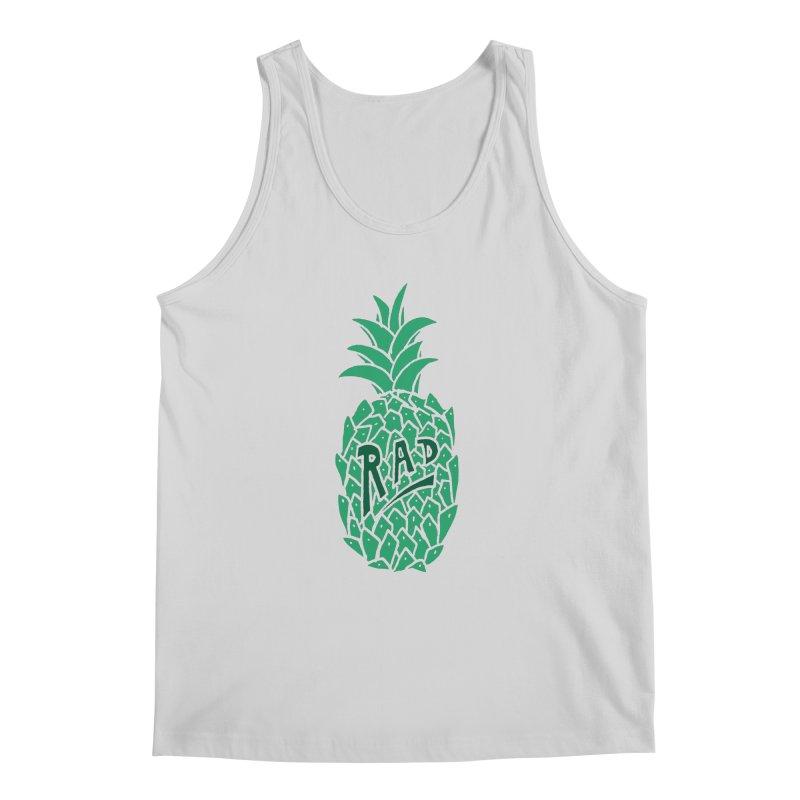 Rad Pineapple Men's Tank by Seanic Supply Co.