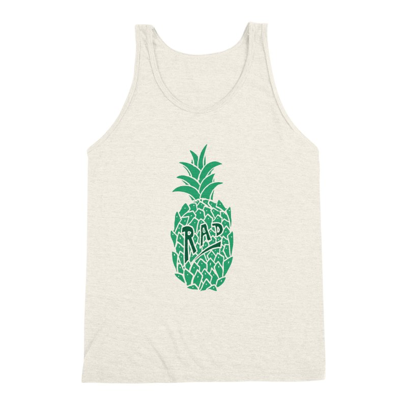 Rad Pineapple Men's Triblend Tank by Seanic Supply Co.