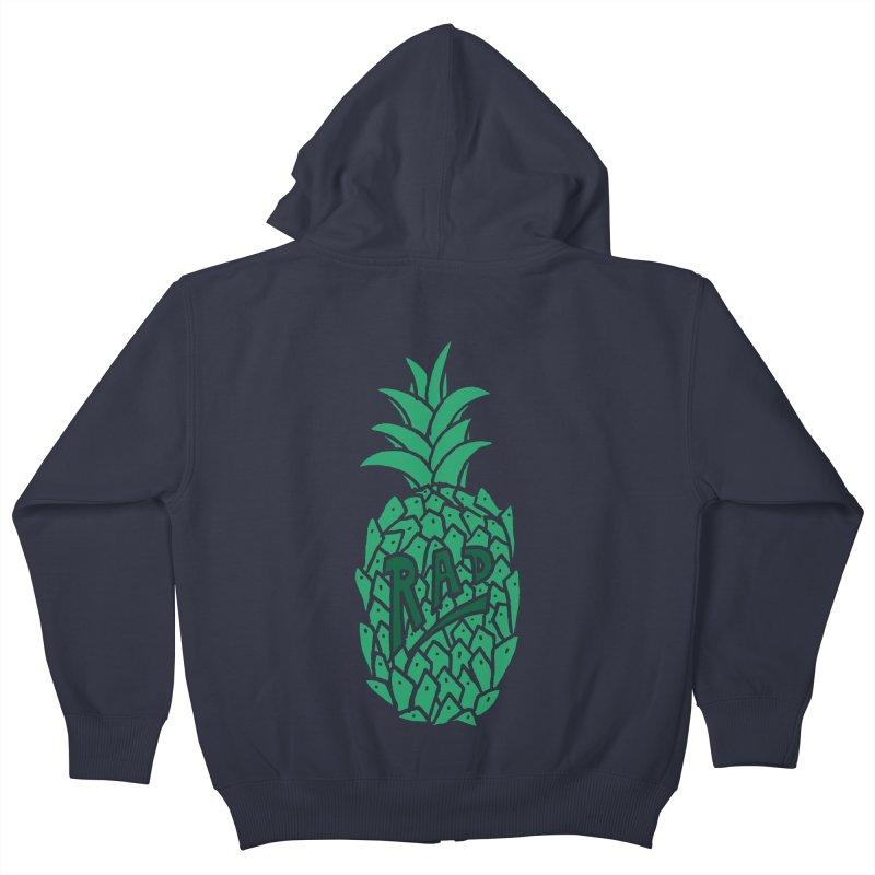Rad Pineapple Kids Zip-Up Hoody by Seanic Supply Co.