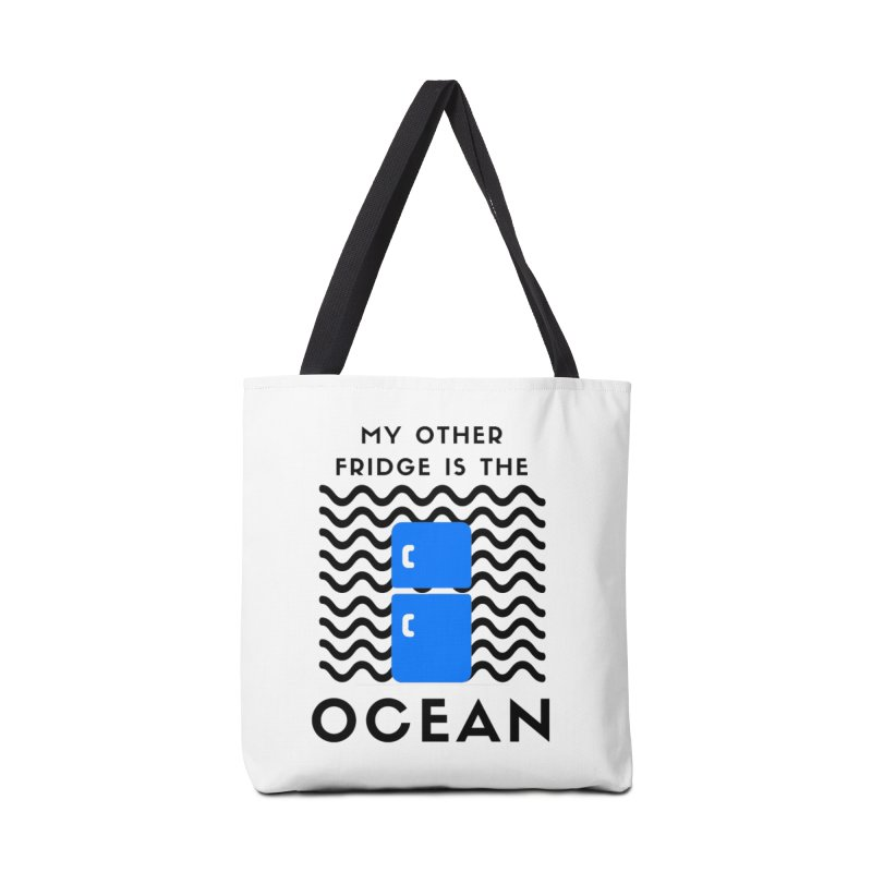 My Other Fridge is the Ocean Accessories Bag by The Seasteading Institute's Supporters Shop