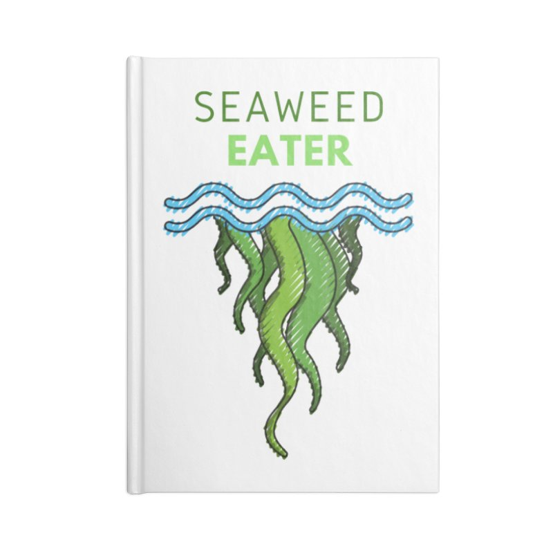 Seaweed Eater Accessories Notebook by The Seasteading Institute's Supporters Shop
