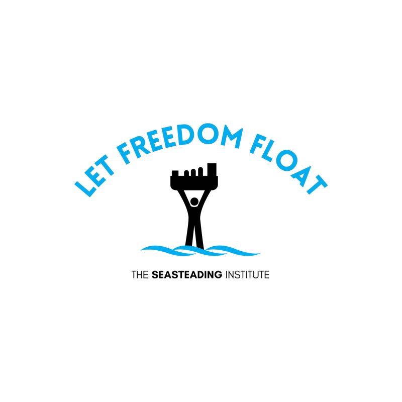 Let Freedom Float Accessories Bag by The Seasteading Institute's Supporters Shop