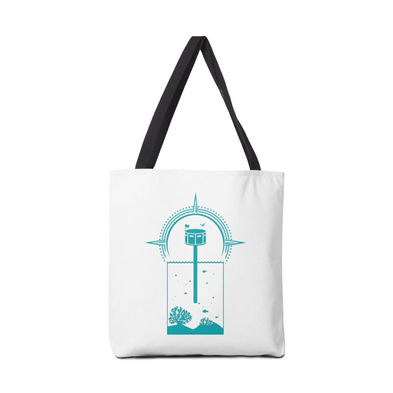 The First Seastead (green) Accessories Bag by The Seasteading Institute's Supporters Shop