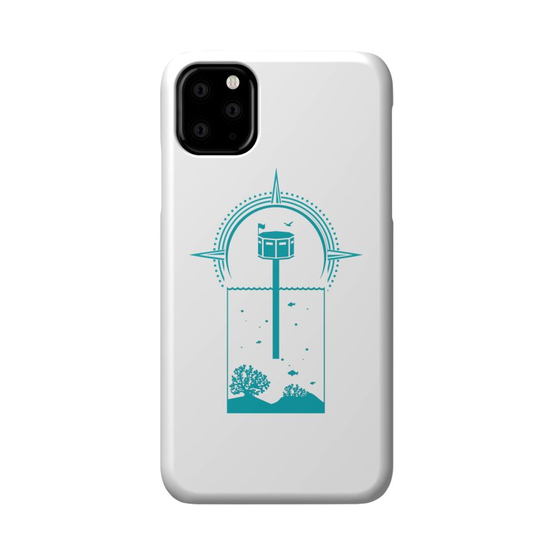 The First Seastead (green) Accessories Phone Case by The Seasteading Institute's Supporters Shop