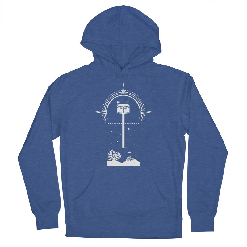 The First Seastead (white) Women's Pullover Hoody by The Seasteading Institute's Supporters Shop
