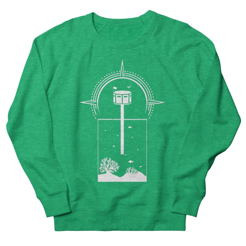 The First Seastead (white) Women's Sweatshirt by The Seasteading Institute's Supporters Shop