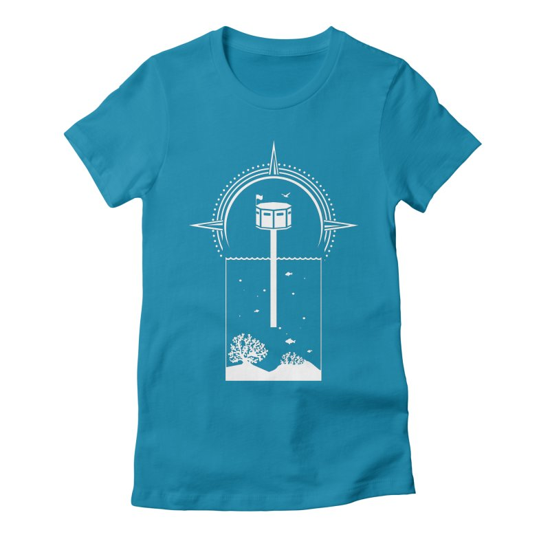 The First Seastead (white) Women's T-Shirt by The Seasteading Institute's Supporters Shop