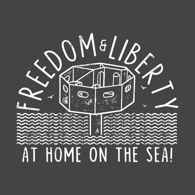Freedom & Liberty First Seastead Women's Scoop Neck by The Seasteading Institute's Supporters Shop
