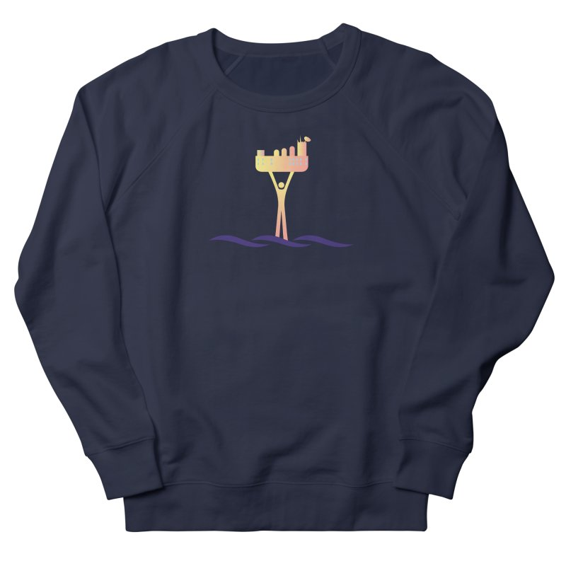 The Seasteading Institute Men's Sweatshirt by The Seasteading Institute's Supporter's Shop