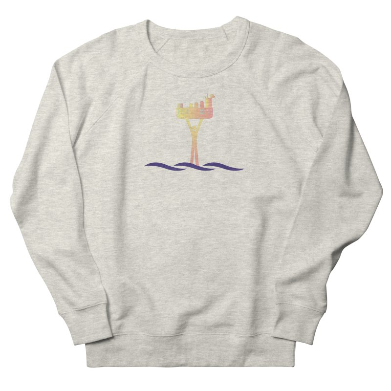 The Seasteading Institute Men's Sweatshirt by The Seasteading Institute's Supporter's Shop