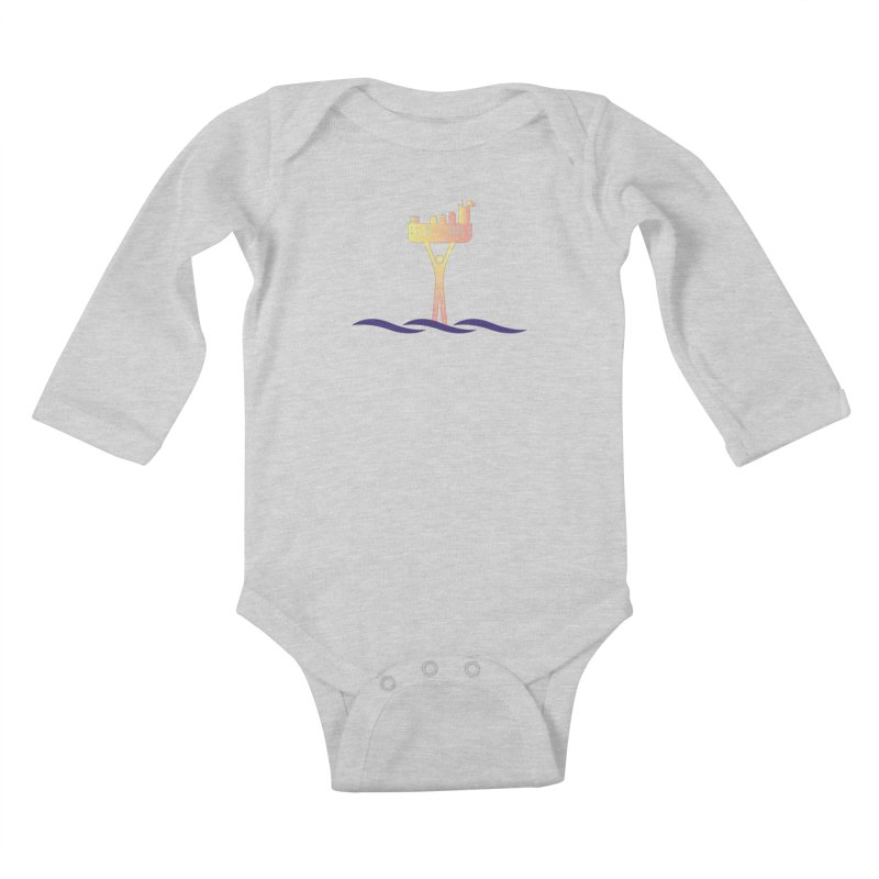 The Seasteading Institute Kids Baby Longsleeve Bodysuit by The Seasteading Institute's Supporters Shop