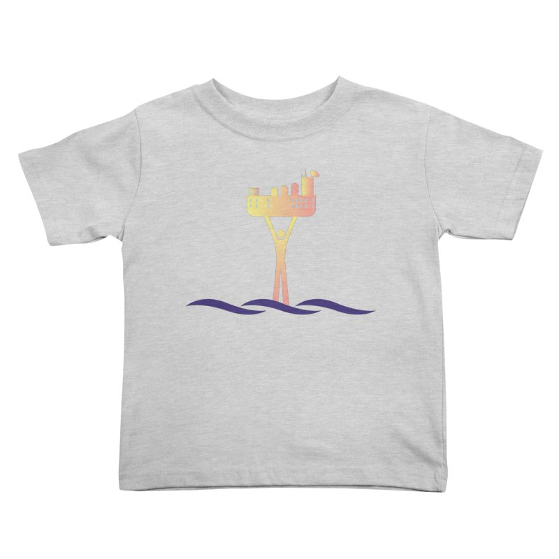 The Seasteading Institute Kids Toddler T-Shirt by The Seasteading Institute's Supporters Shop