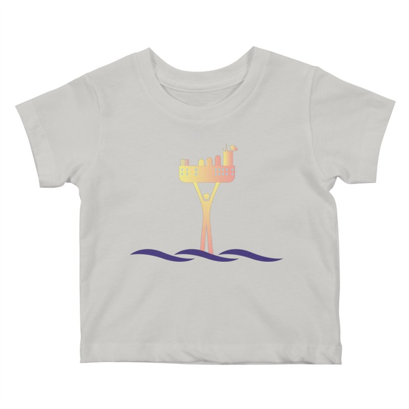 The Seasteading Institute Kids Baby T-Shirt by The Seasteading Institute's Supporter's Shop
