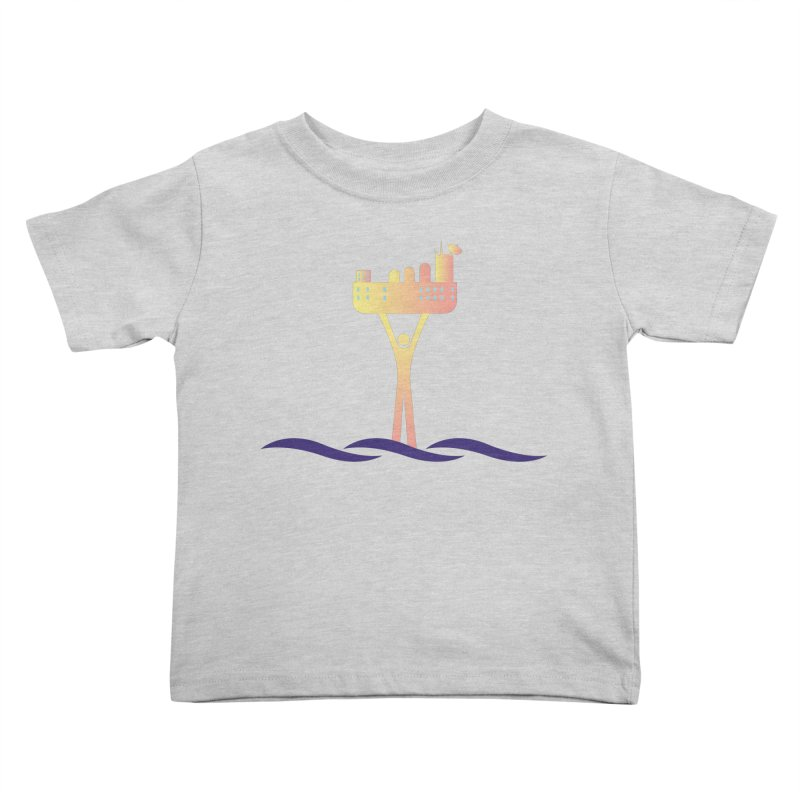 The Seasteading Institute Kids Toddler T-Shirt by The Seasteading Institute's Supporter's Shop