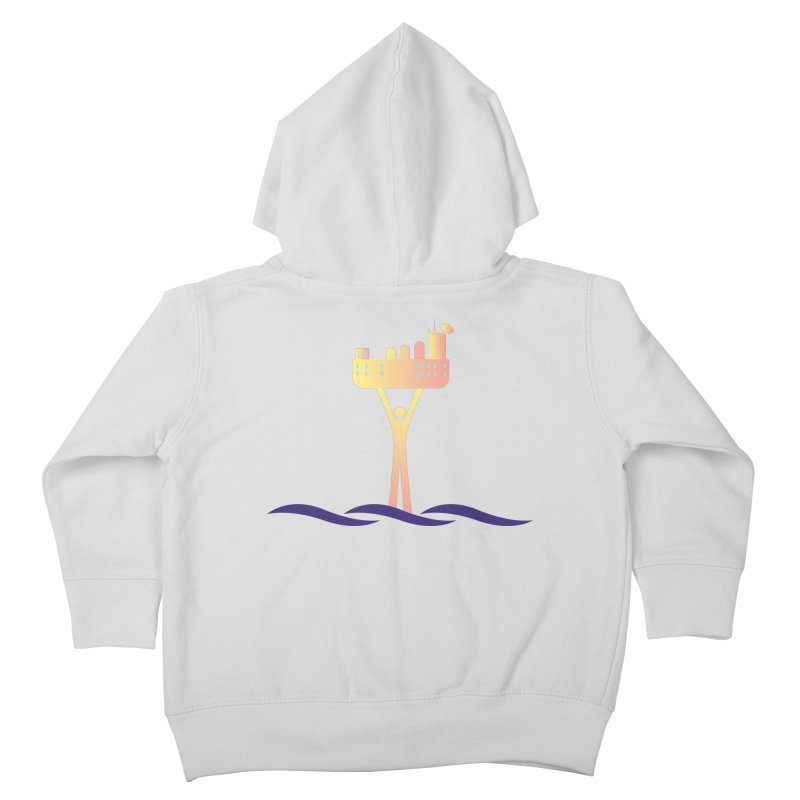 The Seasteading Institute Kids Toddler Zip-Up Hoody by The Seasteading Institute's Supporter's Shop