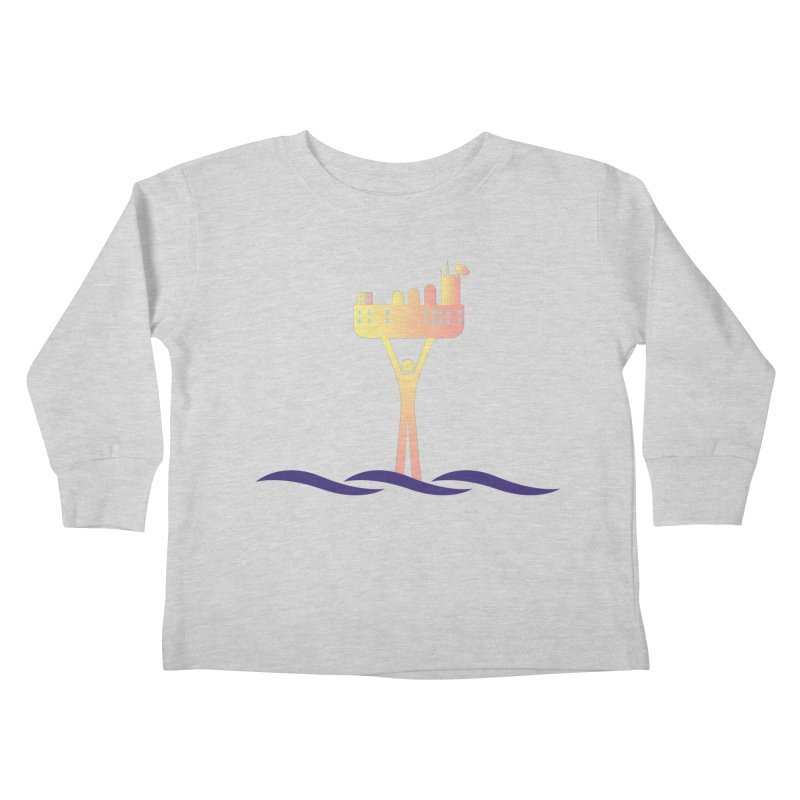 The Seasteading Institute Kids Toddler Longsleeve T-Shirt by The Seasteading Institute's Supporters Shop