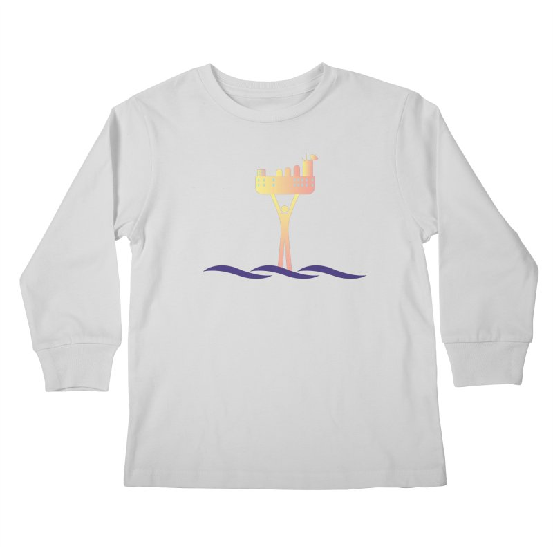 The Seasteading Institute Kids Longsleeve T-Shirt by The Seasteading Institute's Supporters Shop
