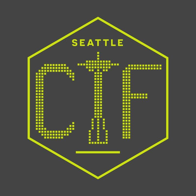 SeattleCTF Original Men's Pullover Hoody by SeattleCTF Warez