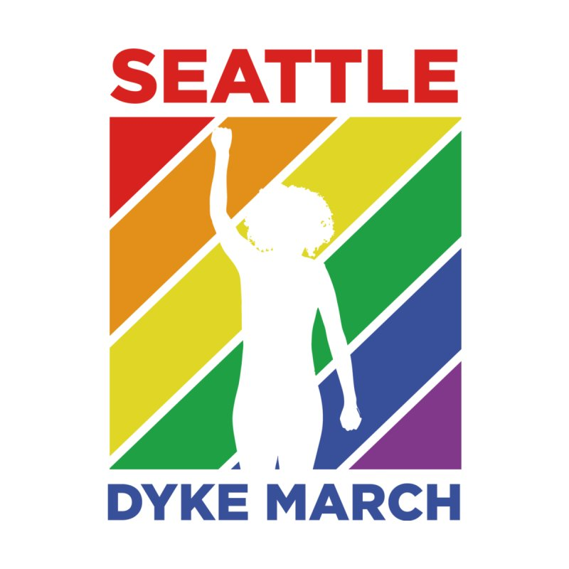 Seattle Dyke March Logo Women's T-Shirt by Seattle Dyke March's Shop