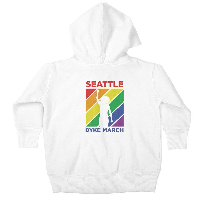 Seattle Dyke March Logo Kids Baby Zip-Up Hoody by Seattle Dyke March's Shop