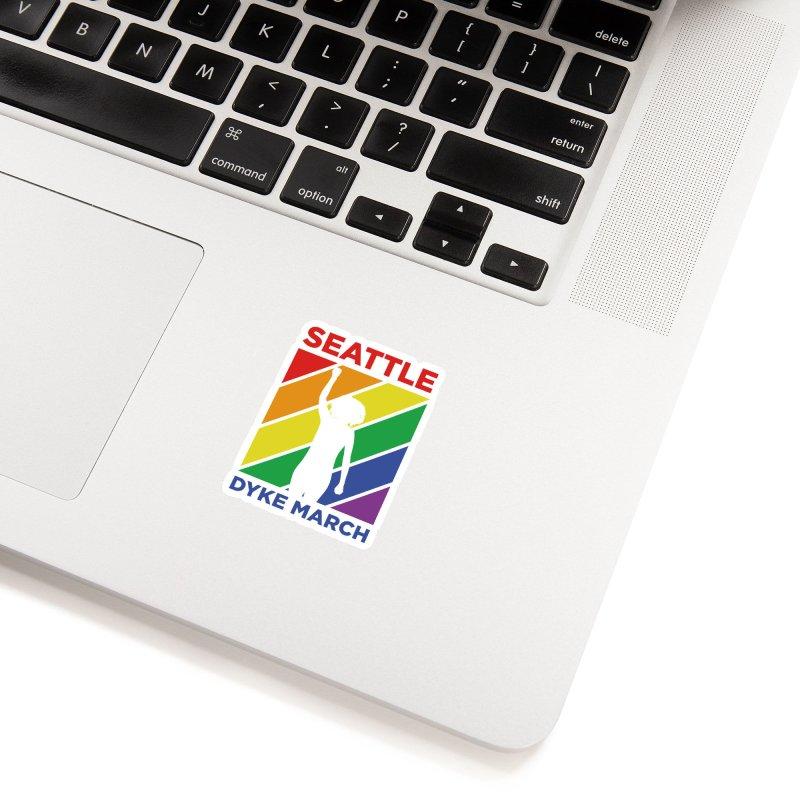 Seattle Dyke March Logo Accessories Sticker by Seattle Dyke March's Shop