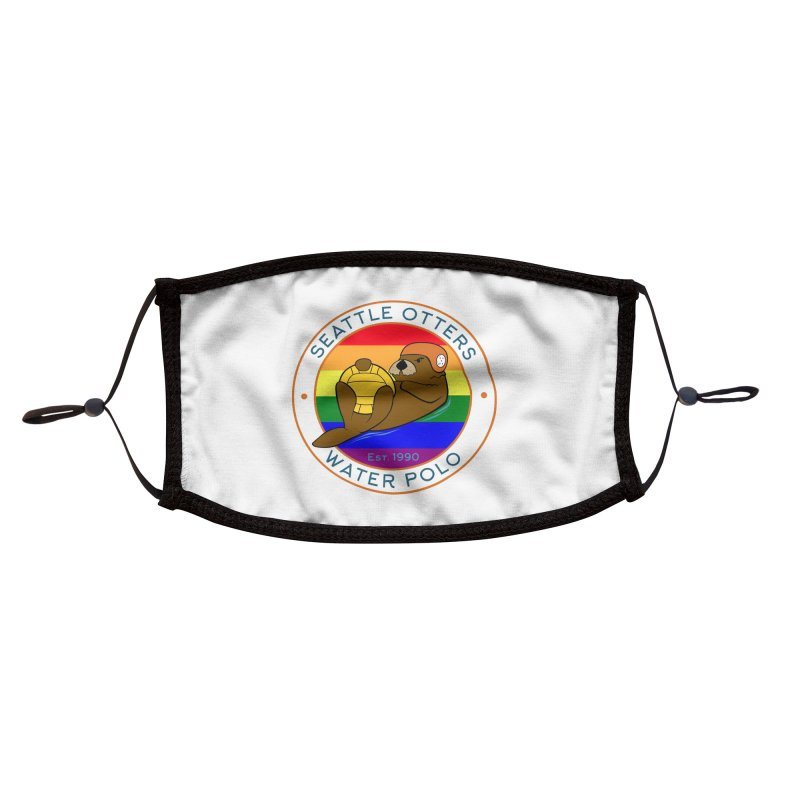 Otters Pride Accessories Face Mask by Seattle Otters Water Polo